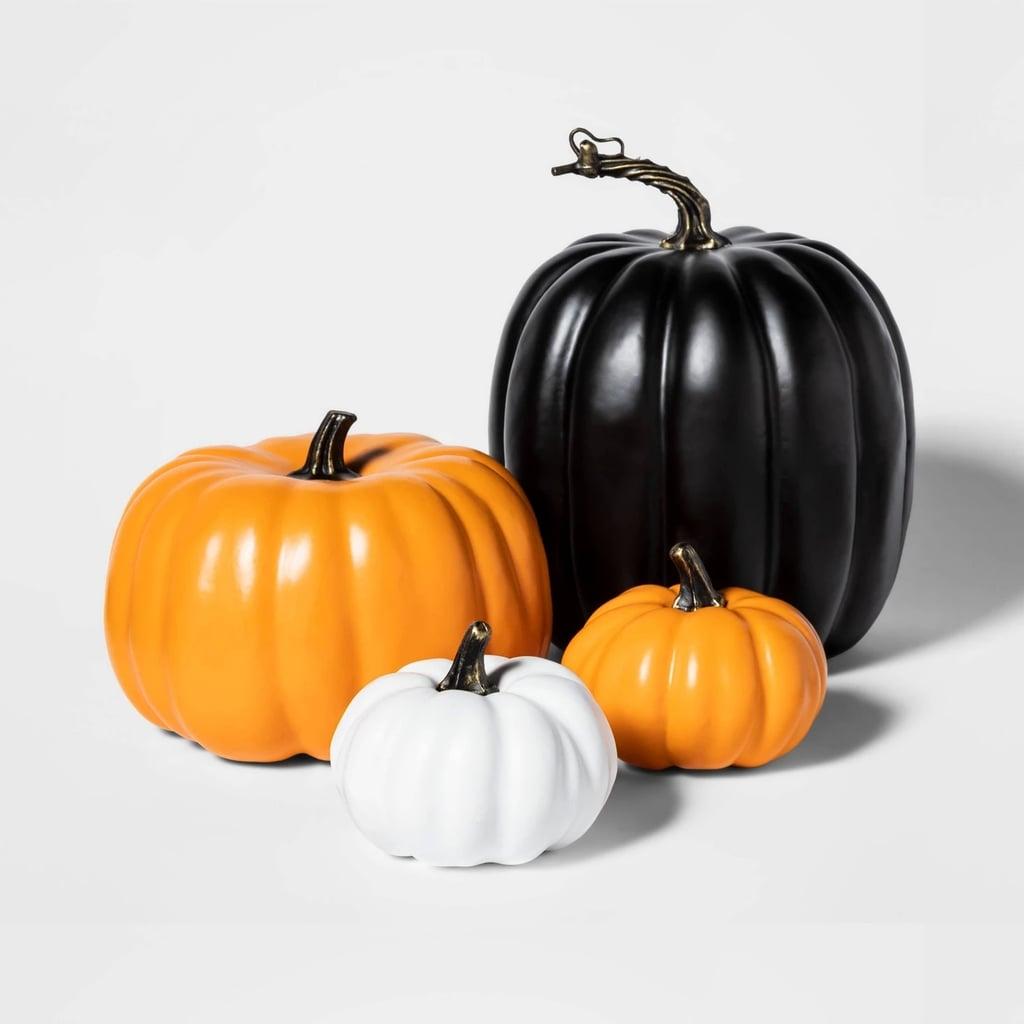 Painted Halloween Pumpkin Bundle