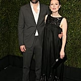 Julianne Moore and Bart Freundlich were one of the cute couples at the Chanel and Charles Finch event.