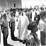 دبي تطلق معرض صور للشيخ الراحل زايد بن سلطان آل نهيان