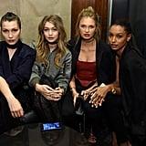 Bella Hadid, Gigi Hadid, Romee Strijd, and Jasmine Tookes