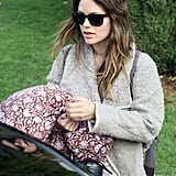 Rachel Bilson Preps For Her Ice Cold Debut at Tribeca