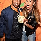 Ciara and Russell Wilson at Kids' Choice Sports Awards 2016