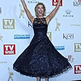 Catriona Rowntree Tried the Two Arm Wave