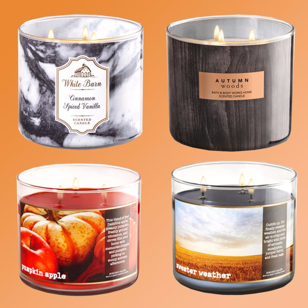 bath body works fall candles 2017 popsugar home