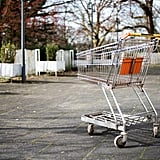 Not returning your shopping cart.