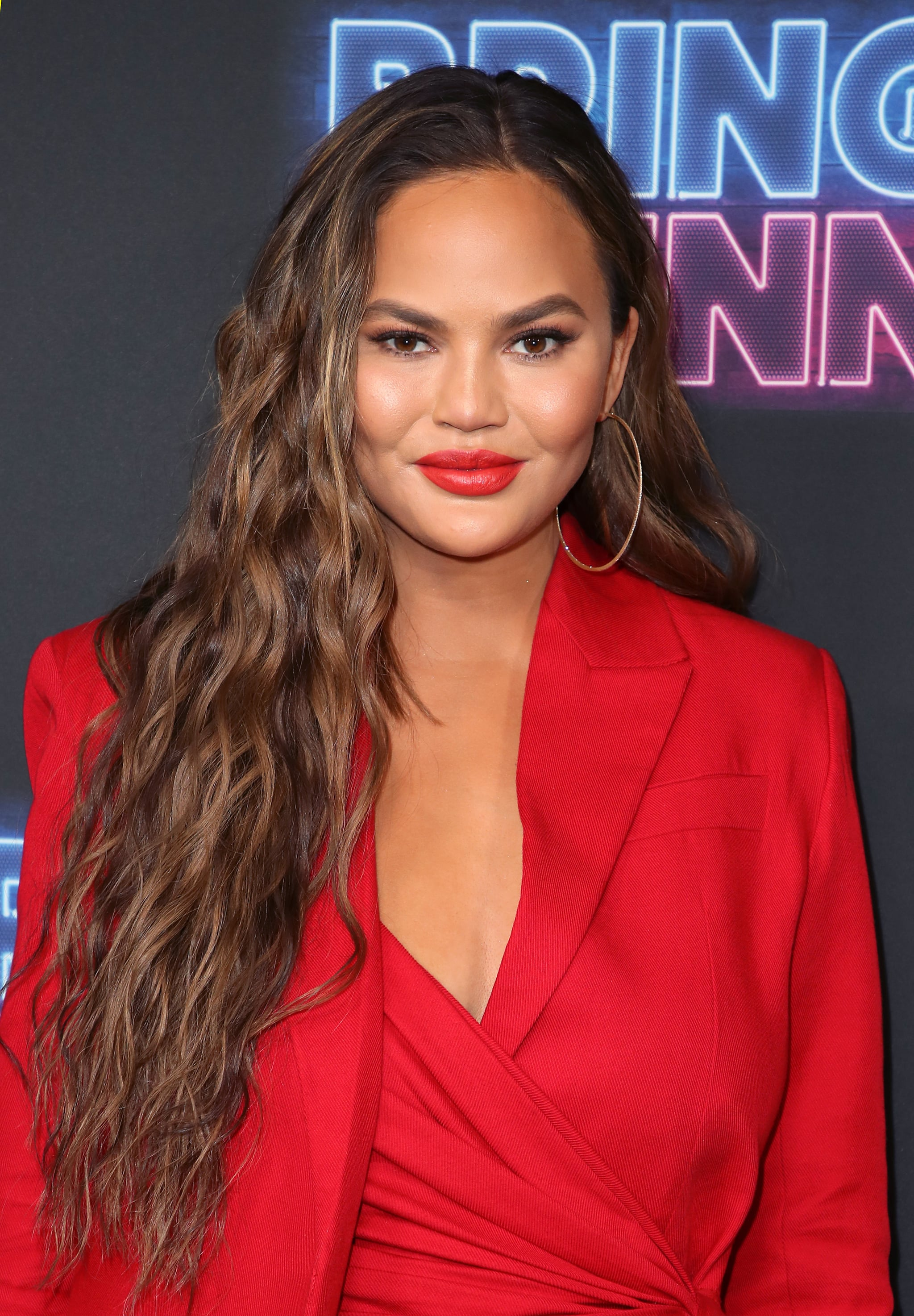 LOS ANGELES, CALIFORNIA - JUNE 26: Chrissy Teigen attends the premiere of NBC's