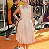 Taylor Swift looked perfectly ladylike in Honor at The Lorax premiere.
