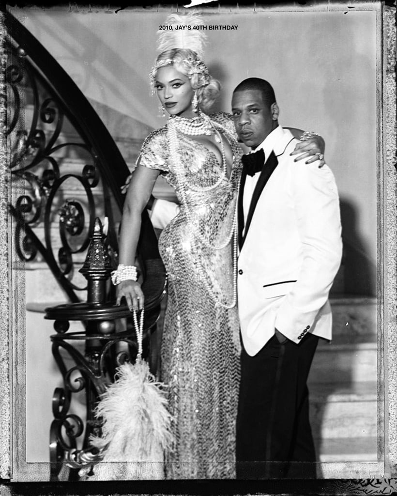 The pair looked like something out of The Great Gatsby during Jay Z's 40th birthday party in 2010.