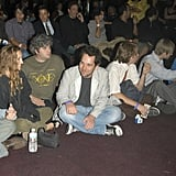 Paul Rudd attended an LA tribute to Andy Kaufman at the House of Blues in May 2004.