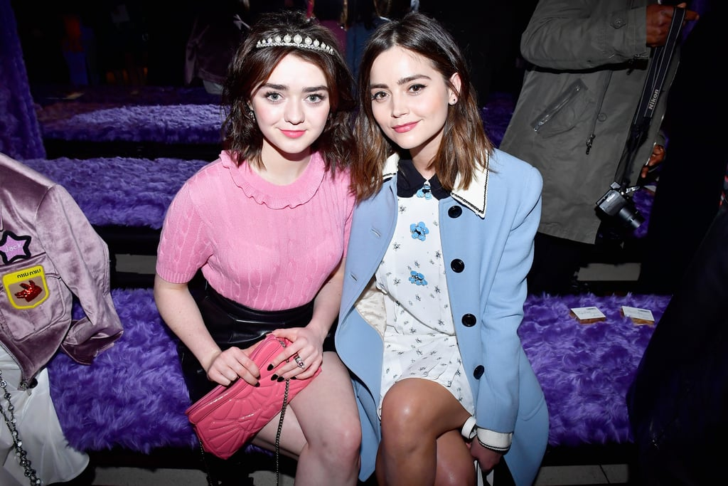 Maisie Williams and Jenna Coleman