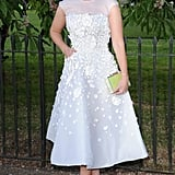 Princess Beatrice in Nicholas Oakwell Couture
