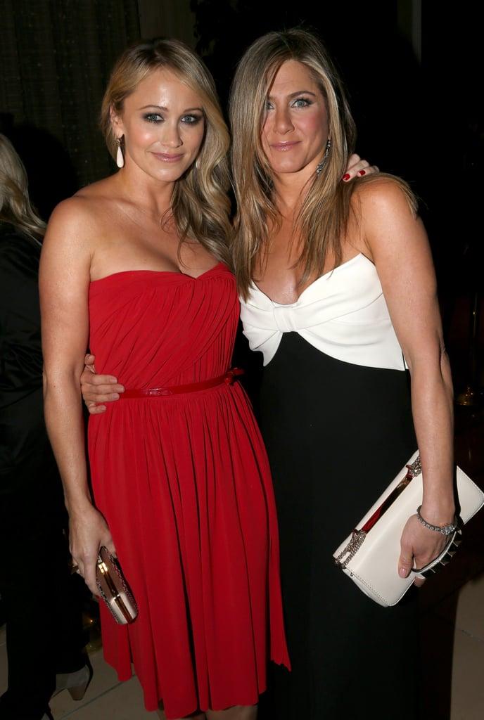 Jennifer Aniston and Justin Theroux Honor Ben Stiller