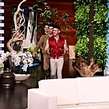 Jonas Brothers Talk About Kardashian TikTok on Ellen Show