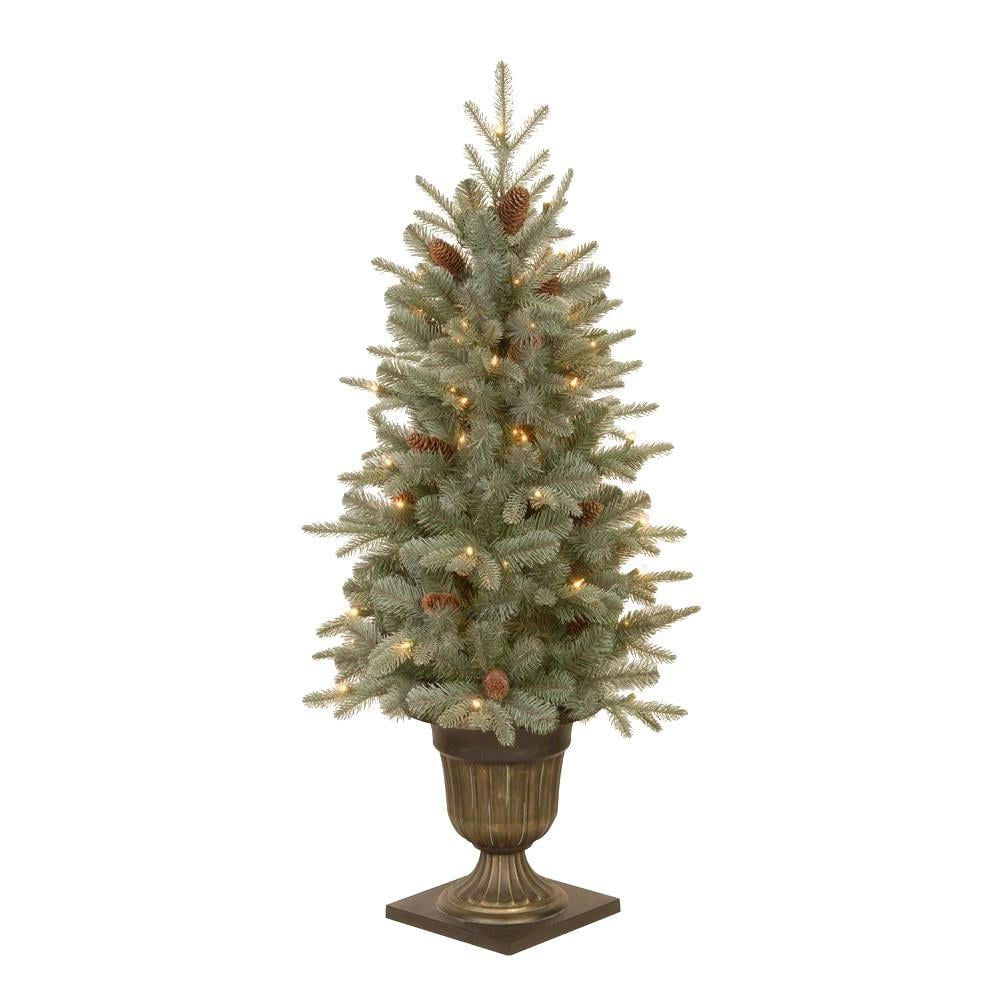 National Tree Company 4.5 Ft. | Home Depot Christmas Trees ...