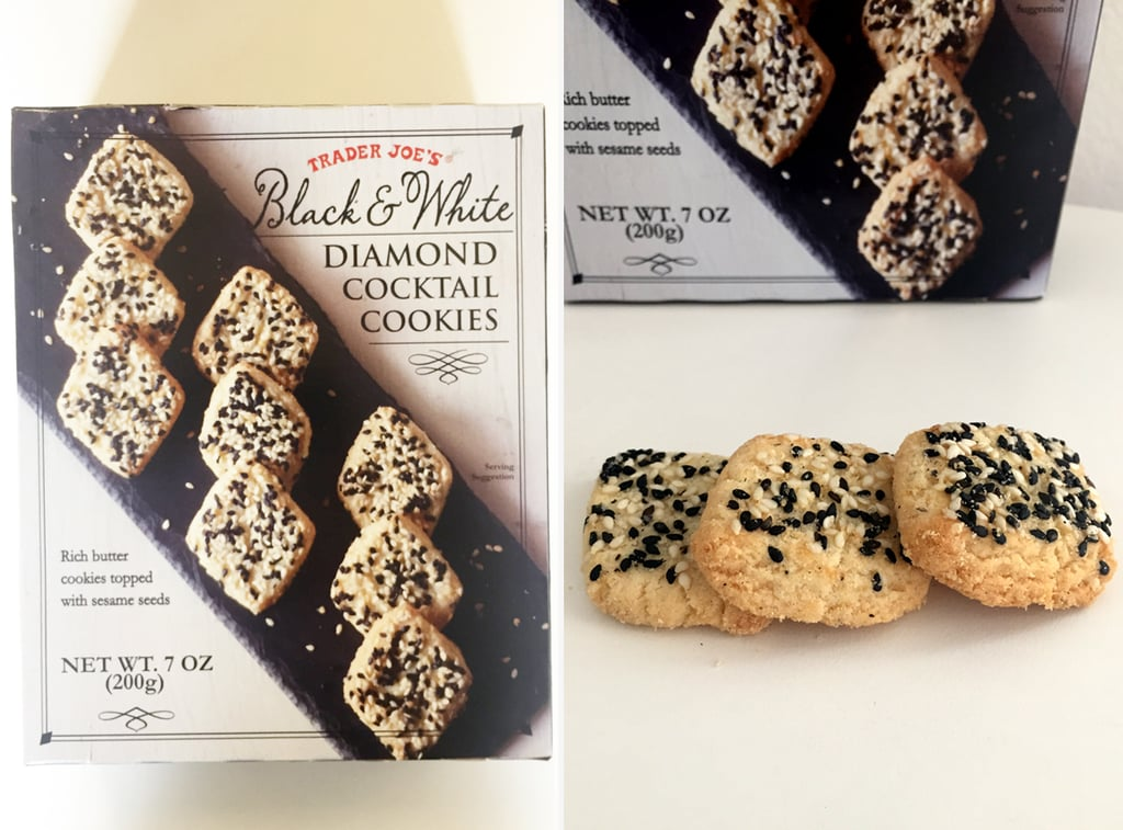 Pick Up: Black and White Diamond Cocktail Cookies ($4)