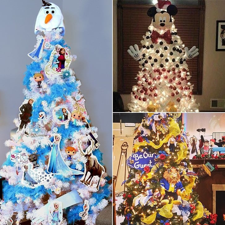 disney christmas tree ideas - Disney Beauty And The Beast Christmas Decorations