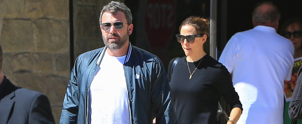 Ben Affleck and Jennifer Garner at Church Sept. 2018
