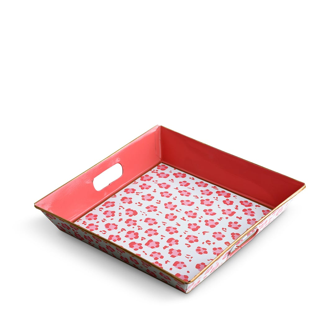 Furbish Studio Pink Leopard Tray
