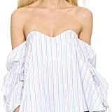 Caroline Constas Gabriella Bustier Top ($395)