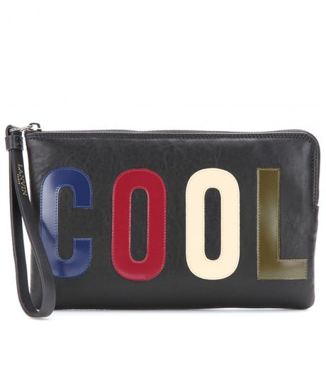 Lanvin Top Zip Clutch ($584)