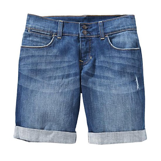 "Old Navy Low-Rise Cuffed Denim Shorts, $25    Pair with:    <iframe src=""http://widget.shopstyle.com/widget?pid=uid5121-1693761-41&look=3445568&width=3&height=3&layouttype=0&border=0&footer=0"" frameborder=""0"" height=""244"" scrolling=""no"" width=""286""></iframe>"