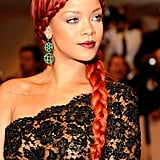 Rihanna's Red Braid in 2011