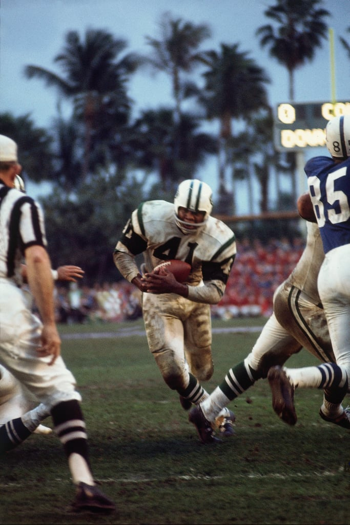 Palm trees filled the sunny Miami sky during 1969's Super Bowl.