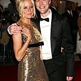 Sienna with designer Christopher Bailey.