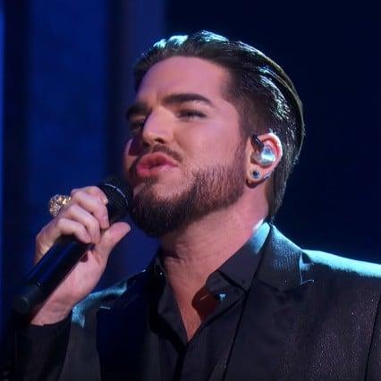 "Adam Lambert Sings ""Believe"" at Kennedy Centre Honours Video"