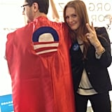 Julianne Moore campaigned for President Obama's reelection in Virginia.  Source: Twitter user _juliannemoore