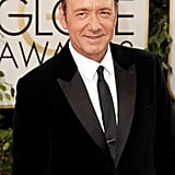 Kevin Spacey made his way down the red carpet.