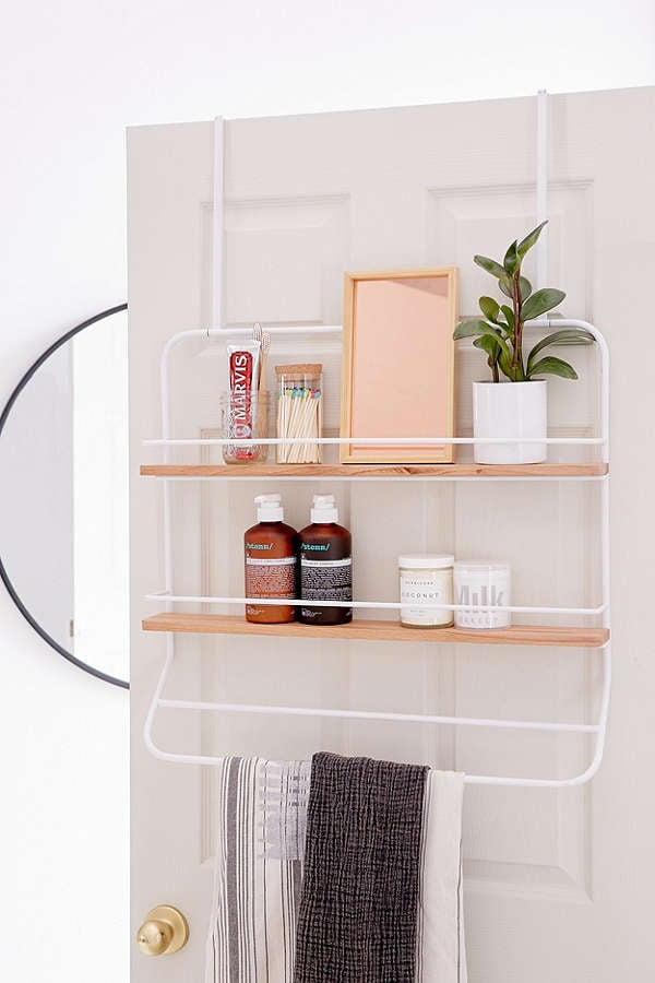 Over the Door Tiered Storage Rack | Bathroom Storage | POPSUGAR Home ...