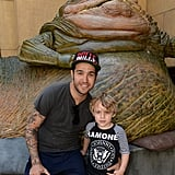 Pete Wentz and Bronx Wentz