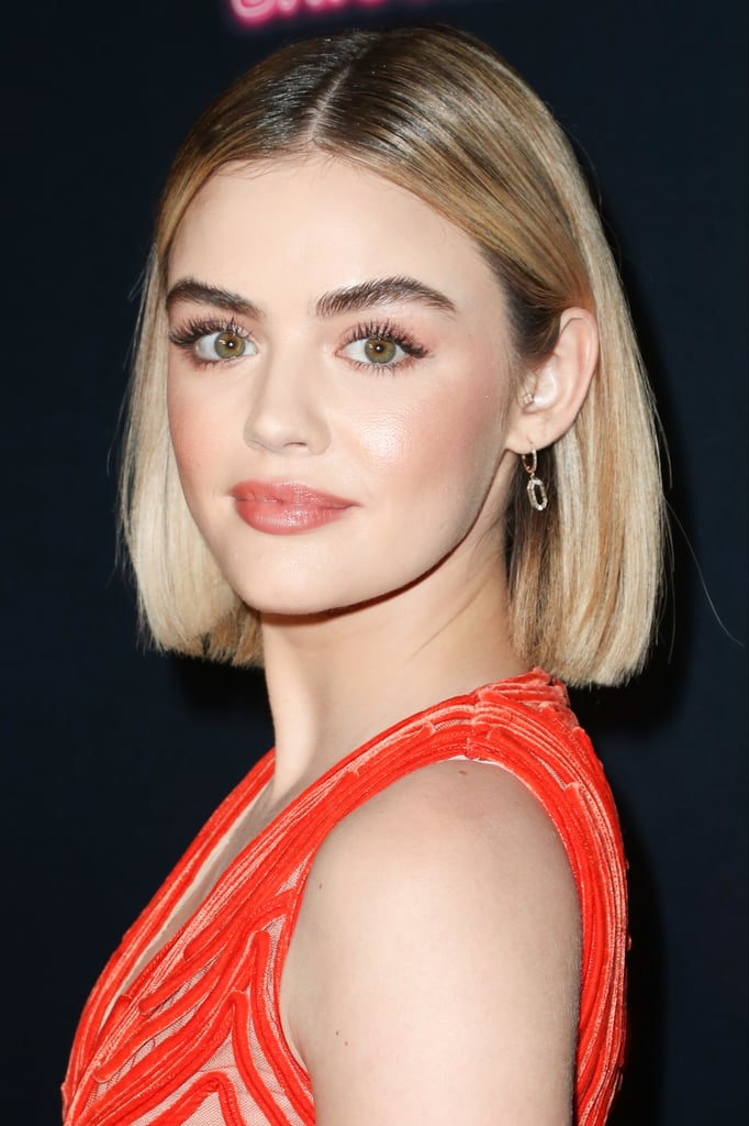 We Can't Get Over Lucy Hale's Dramatic New Chocolate Hair Color