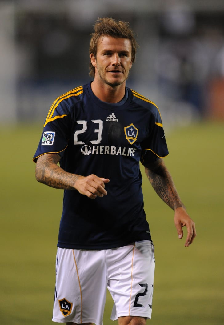 Pictures of David Beckham Playing Soccer in LA | POPSUGAR ...