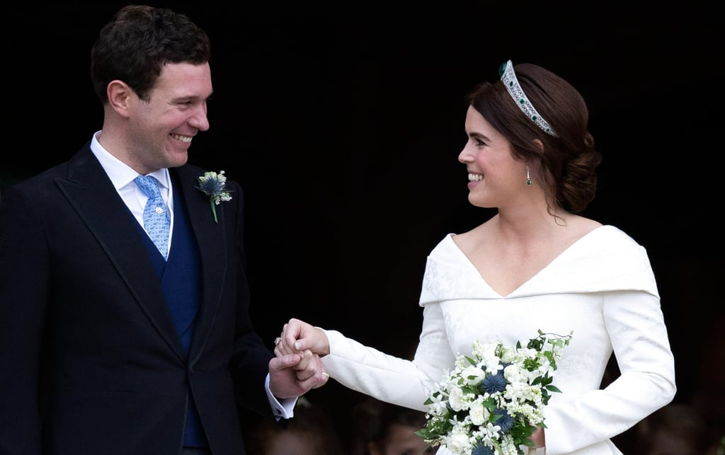 Princess Eugenie's Something Blue