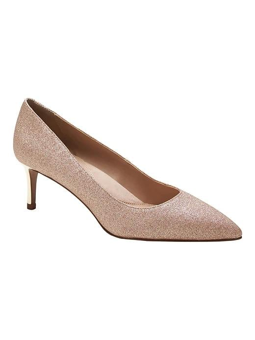 Madison 12-Hour Kitten-Heel Pump