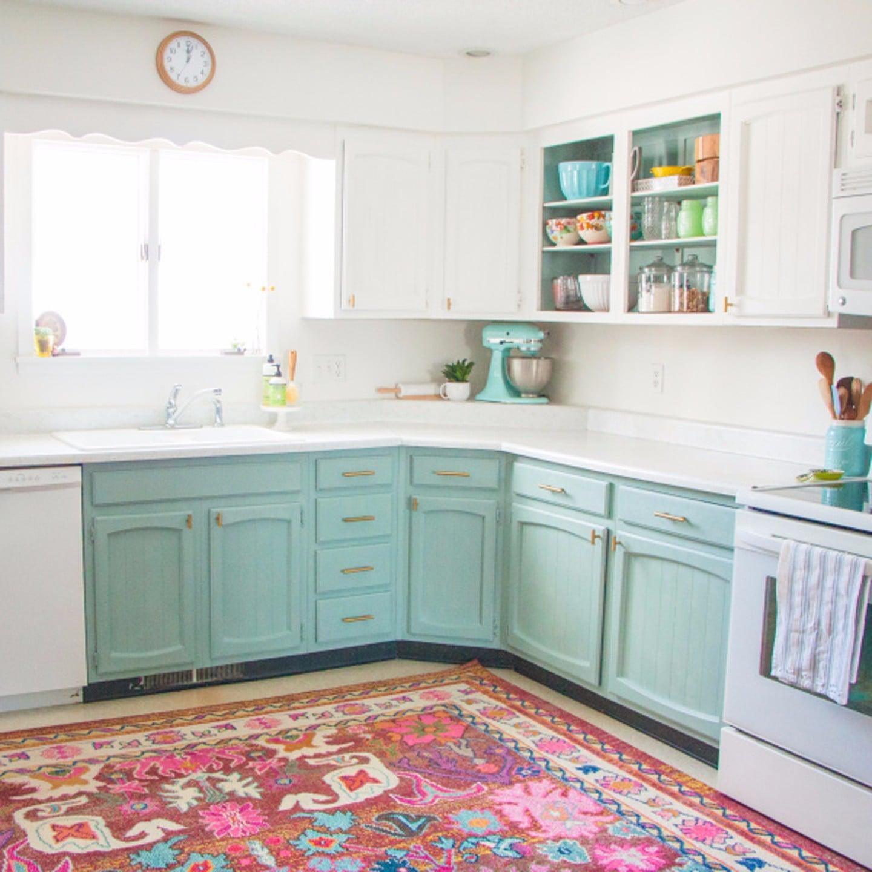 Home Kitchen Affordable Diy Home Kitchen Makeover Popsugar Home