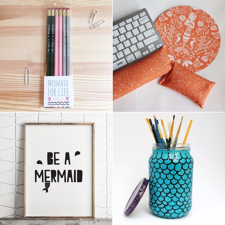 Mermaid Desk Accessories