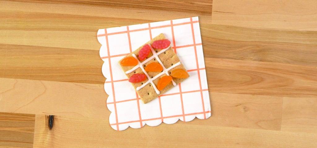 How to Make an Edible Tic-Tac-Toe Set