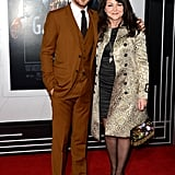 Ryan Gosling posed with his mom, Donna.