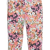 The sweet pair of floral-print leggings ($24) comes courtesy of TA-EAM.