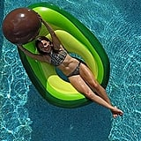 Flōtēz Inc. Luxury Inflatable Avocado Pool Float