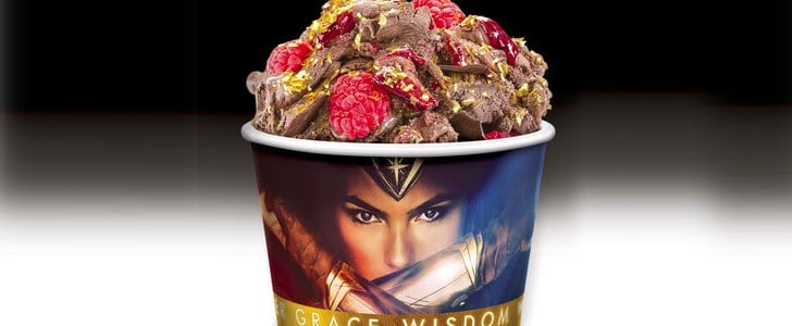 Cold Stone Creamery Wonder Woman Flavor