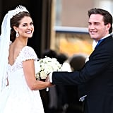 Pics: Princess Madeleine of Sweden's Valentino Wedding Dress