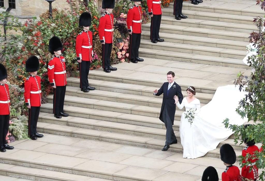 Princess Eugenie Wedding Dress Designer
