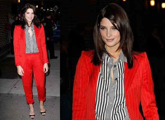 Photos of Ashley Greene at Late Show With David Letterman