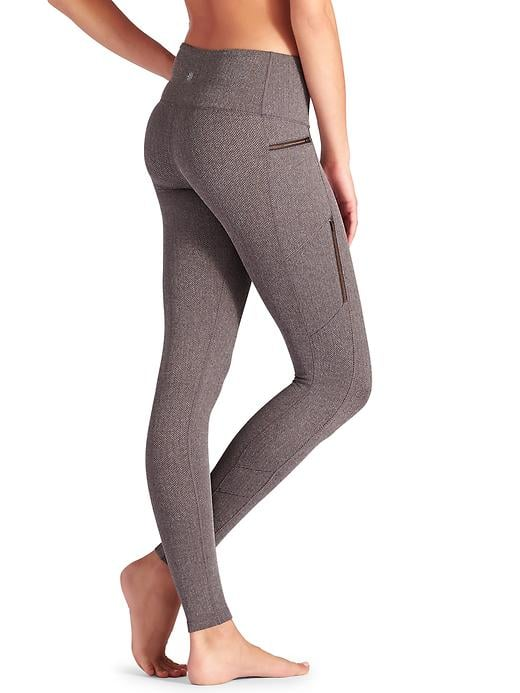 Athleta Herringbone Sly Drifter Tight