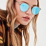 Urban Outfitters Cut-It-Out Half-Frame Sunglasses