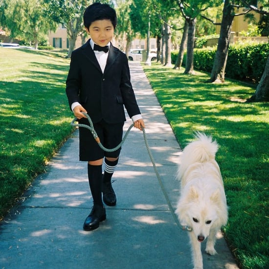 Alan Kim's Oscars Outfit Looks Like David Rose's Wedding Tux
